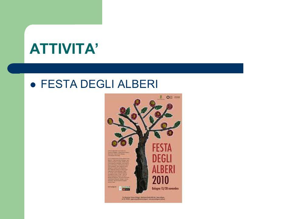 ATTIVITA' FESTA DEGLI ALBERI