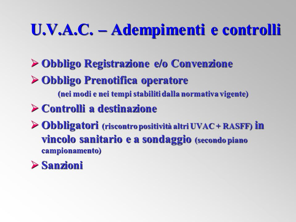 U.V.A.C.