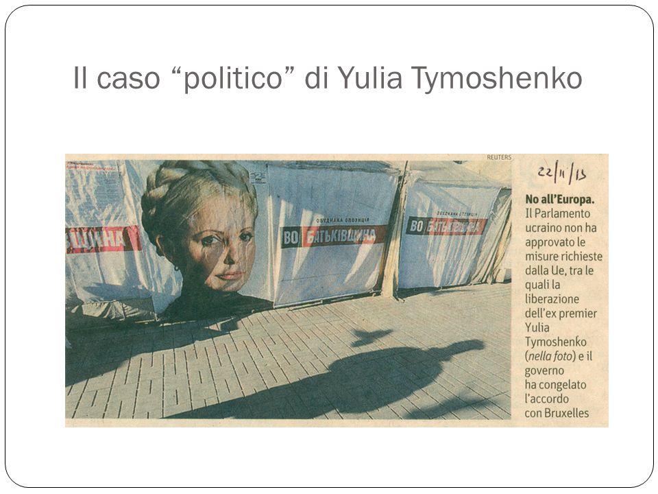 """Il caso """"politico"""" di Yulia Tymoshenko"""