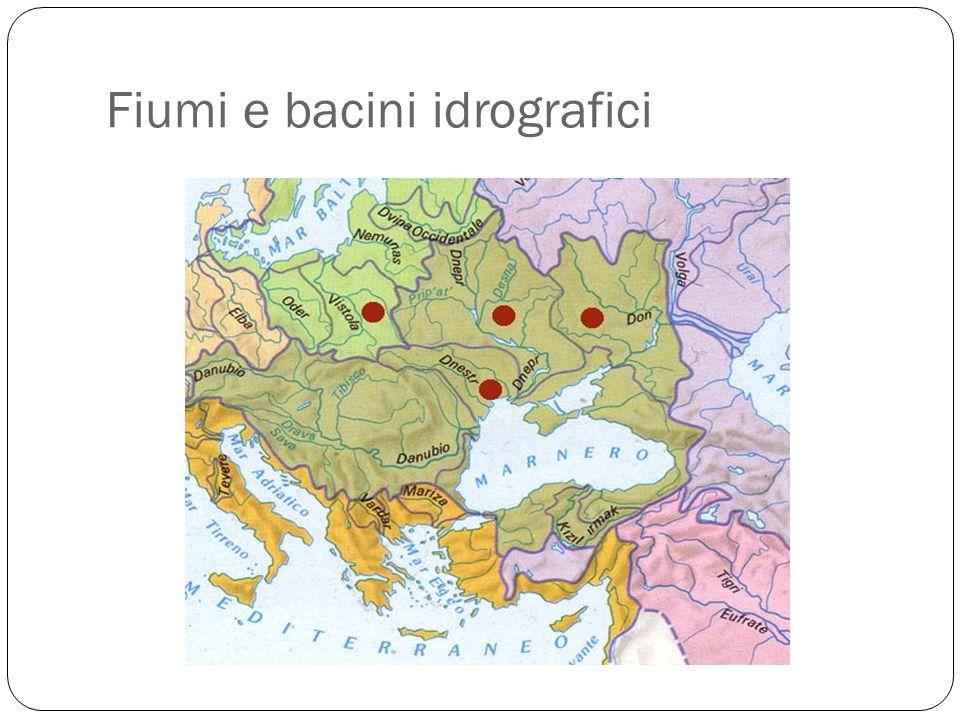Fiumi e bacini idrografici