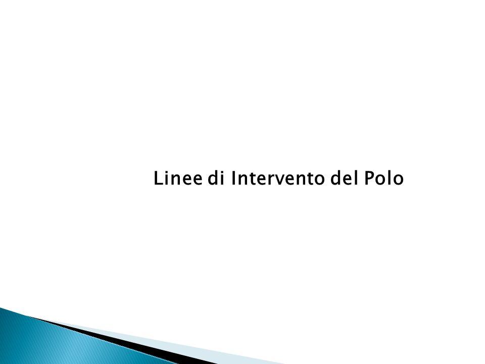 Linee di Intervento del Polo