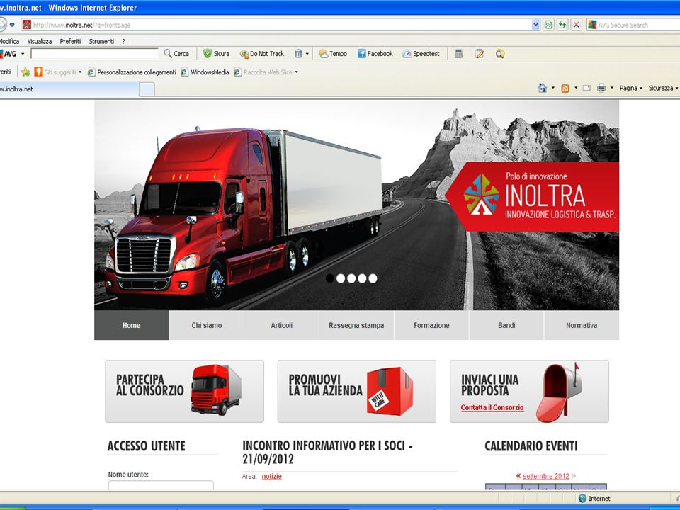 LA NOSTRA PAGINA WEB