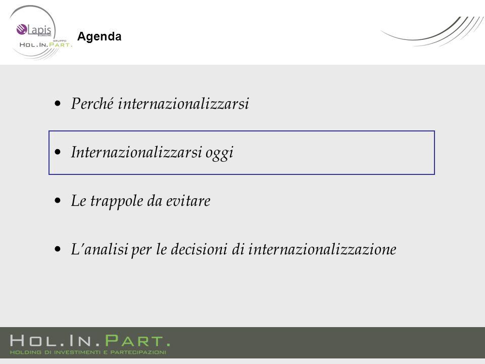 L'internazionalizzazione delle imprese e dei sistemi economici a.