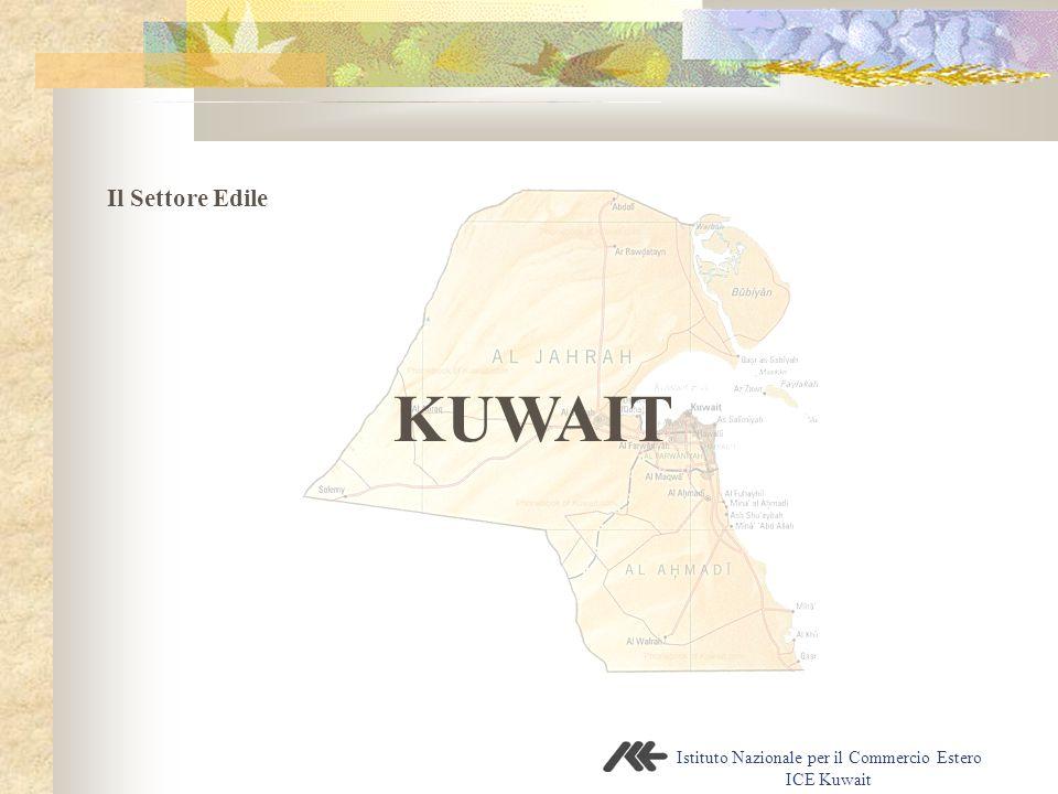 Istituto Nazionale per il Commercio Estero ICE Kuwait KUWAIT Il Settore Edile