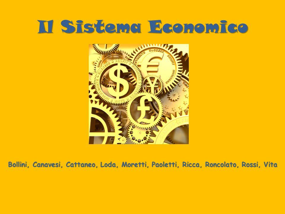 Il Sistema Economico Bollini, Canavesi, Cattaneo, Loda, Moretti, Paoletti, Ricca, Roncolato, Rossi, Vita