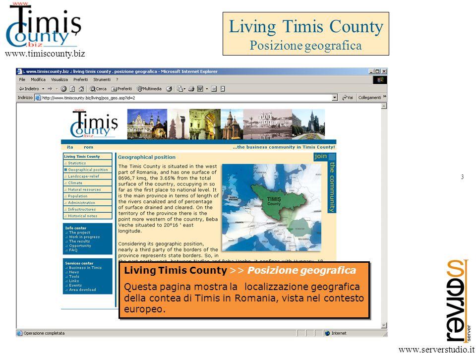 Living Timis County Posizione geografica www.timiscounty.biz www.serverstudio.it Living Timis County >> Posizione geografica Questa pagina mostra la localizzazione geografica della contea di Timis in Romania, vista nel contesto europeo.