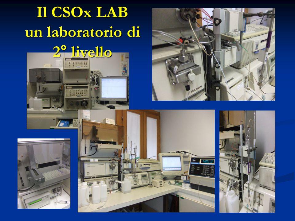 Il CSOx LAB un laboratorio di 2° livello