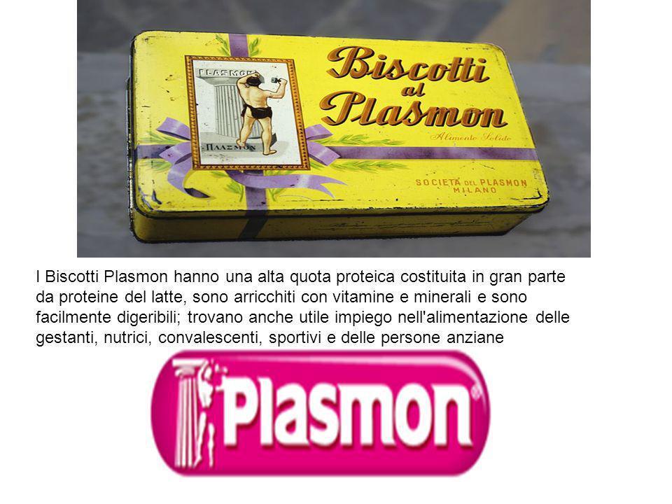 I Biscotti Plasmon hanno una alta quota proteica costituita in gran parte da proteine del latte, sono arricchiti con vitamine e minerali e sono facilm