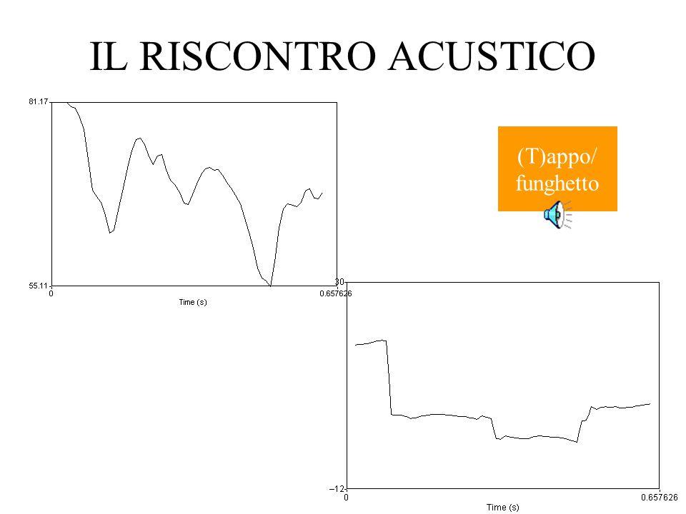 IL RISCONTRO ACUSTICO (T)appo/ funghetto