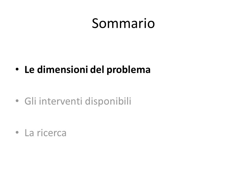 Italian Longitudinal Study on Aging (ILSA): Incidenze di Demenza, mal.