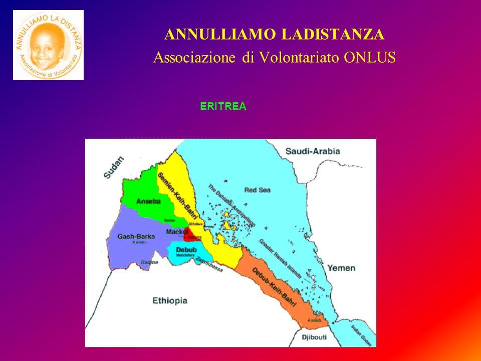 ANNULLIAMO LADISTANZA Associazione di Volontariato ONLUS ERITREA