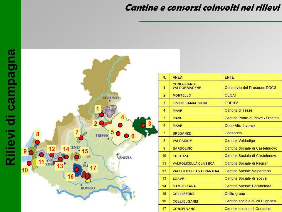 Andamento meteorologico n° di giorni con temperature inferiori a – 8 °C INVERNO 2009 - 2010 Treviso Padova Vicenza Verona Elaborazione ARPAV Centro Meteorologico Teolo (dott.