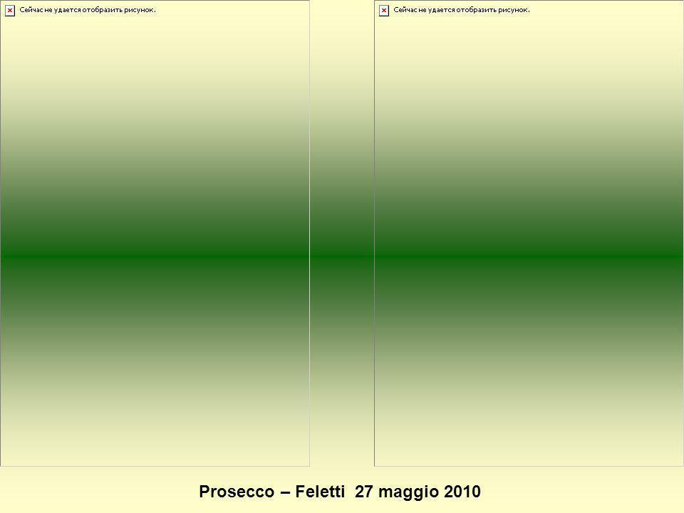 Prosecco – Feletti 27 maggio 2010