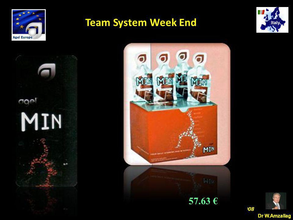 Dr W.Amzallag Jesolo Ottobre 25 2008 5 Team System Week End 57.63 €