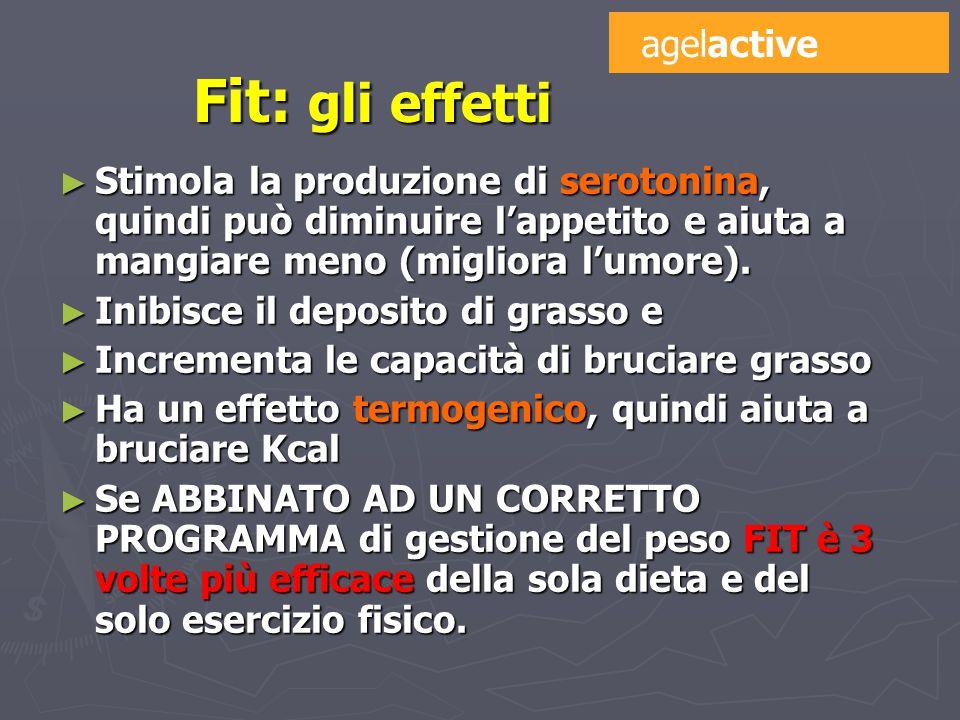 ► Stimola la produzione di serotonina, quindi può diminuire l'appetito e aiuta a mangiare meno (migliora l'umore).