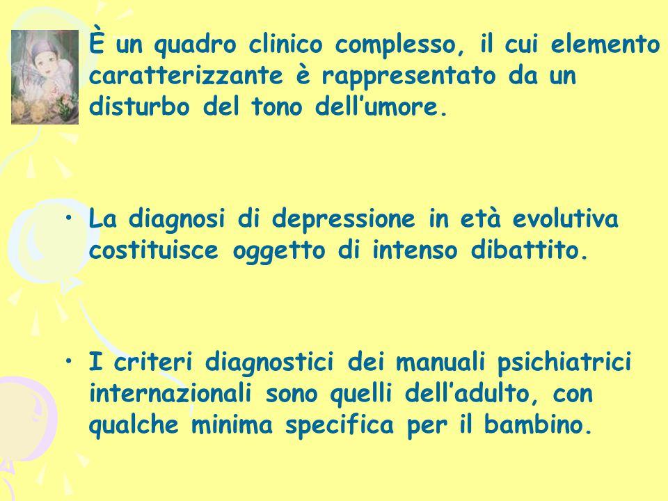 IPOTESI PSICODINAMICA (3) Klein ricondusse la depressione ad una fissazione ad una fase normale nello sviluppo affettivo: la posizione depressiva.