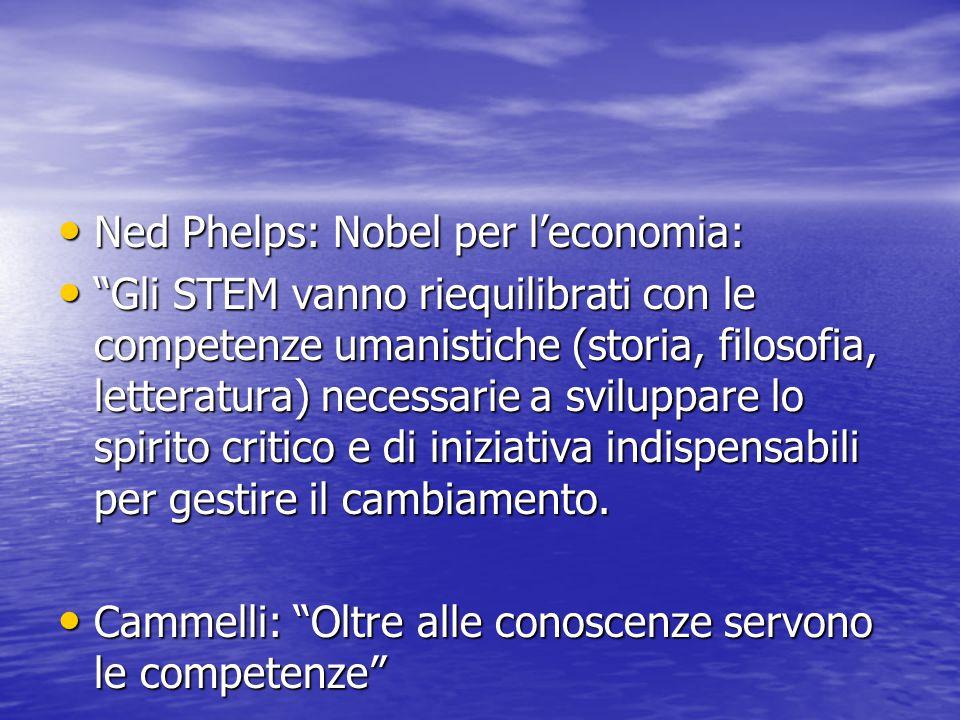 """Ned Phelps: Nobel per l'economia: Ned Phelps: Nobel per l'economia: """"Gli STEM vanno riequilibrati con le competenze umanistiche (storia, filosofia, le"""