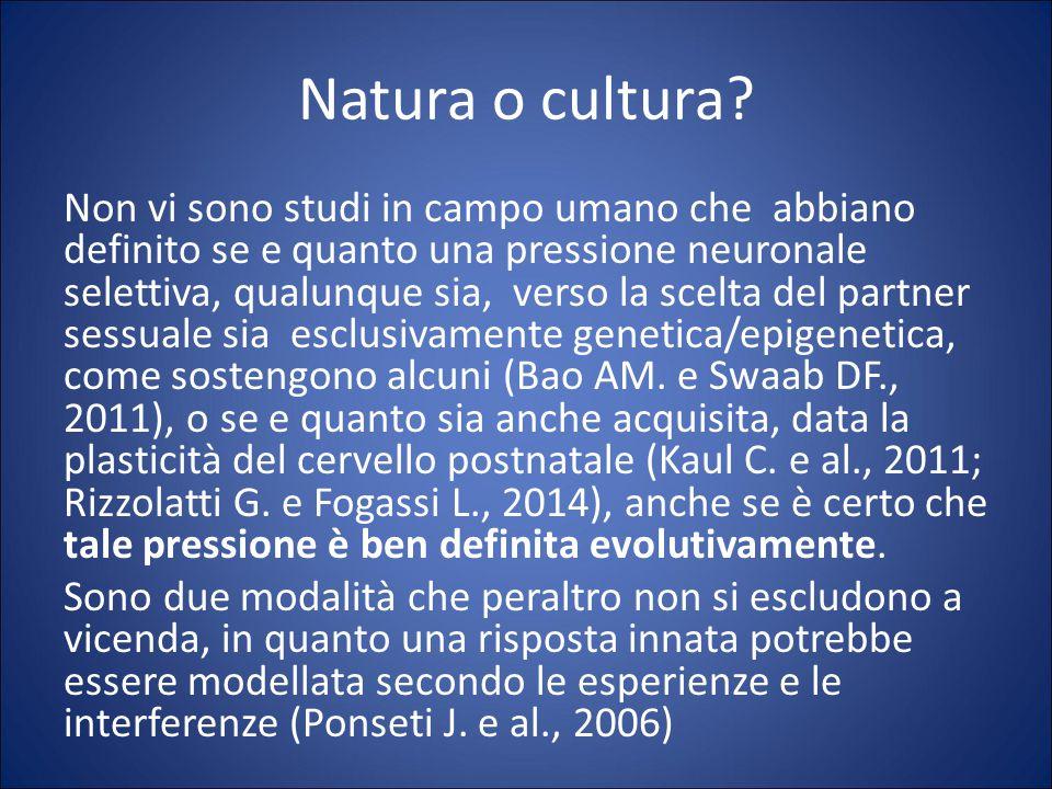 Natura o cultura.