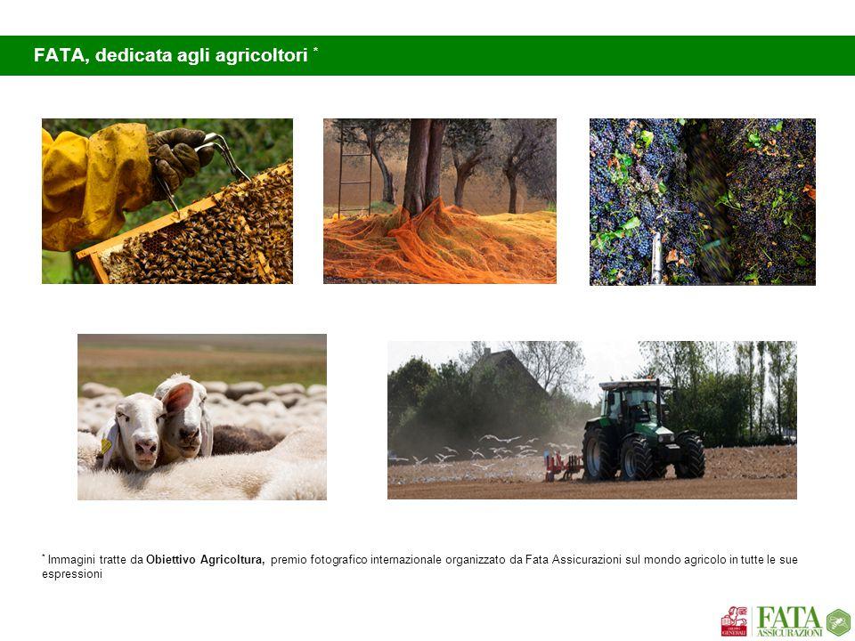 FATA, dedicata agli agricoltori * * Immagini tratte da Obiettivo Agricoltura, premio fotografico internazionale organizzato da Fata Assicurazioni sul