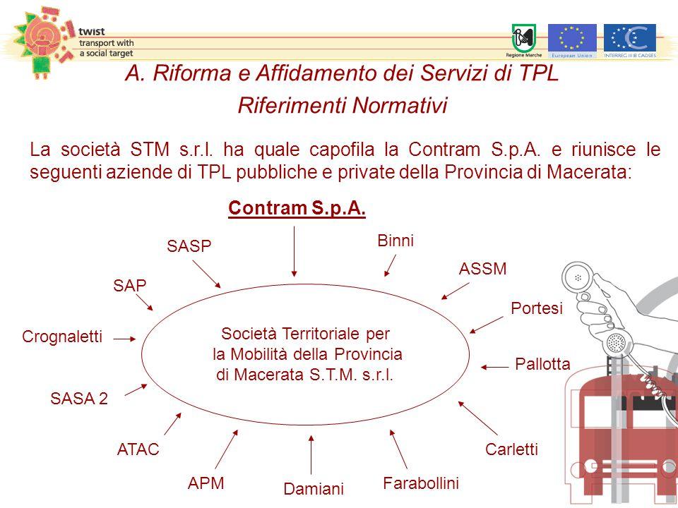 Società Territoriale per la Mobilità della Provincia di Macerata S.T.M.