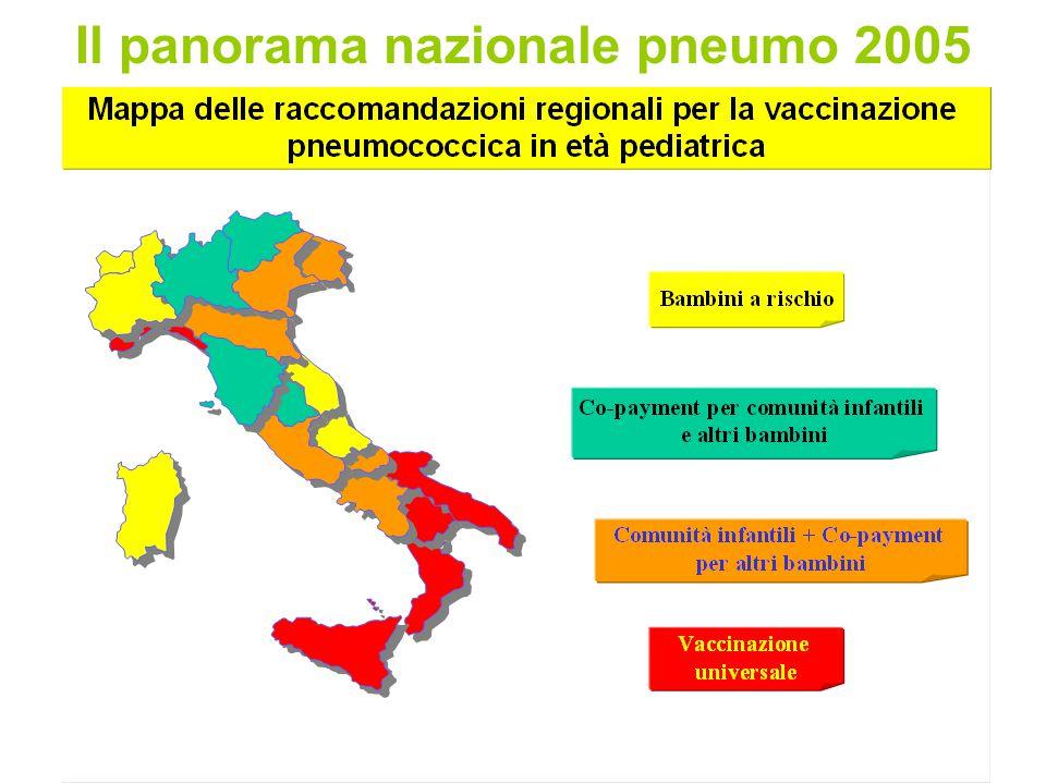 Il panorama nazionale pneumo 2005