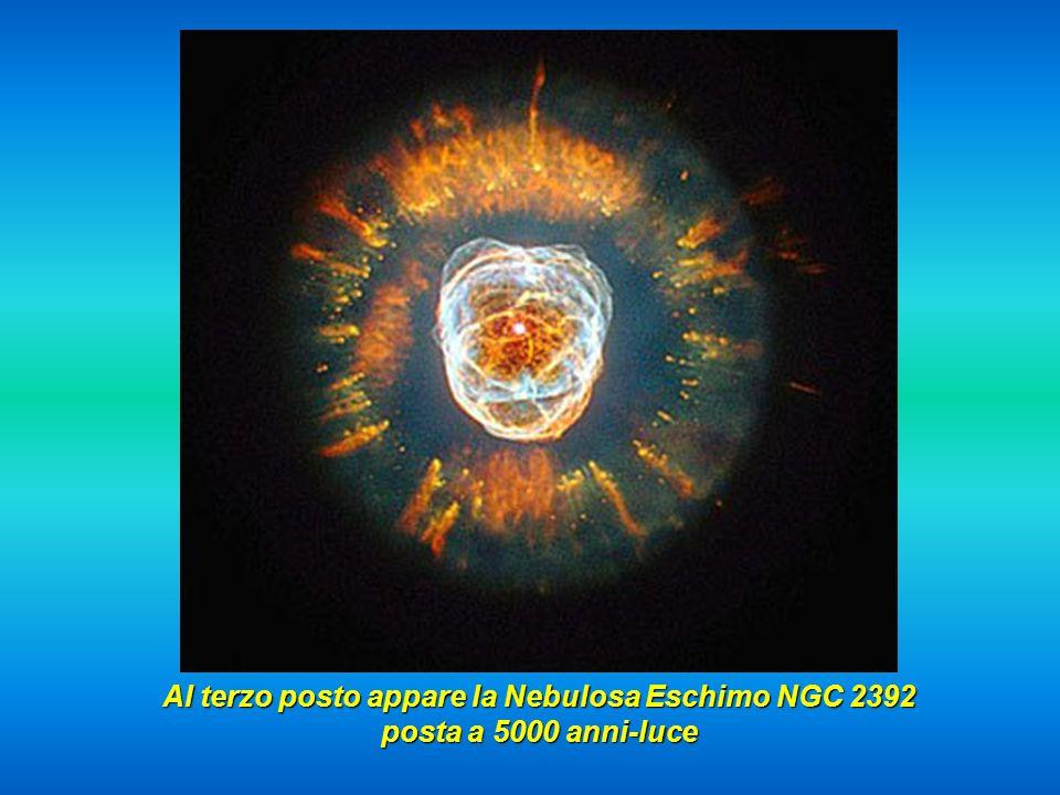 Ecco ora la famosa nebuolsa MZ3, detta la Formica, posta tra i 3000 e 6000 anni-luce