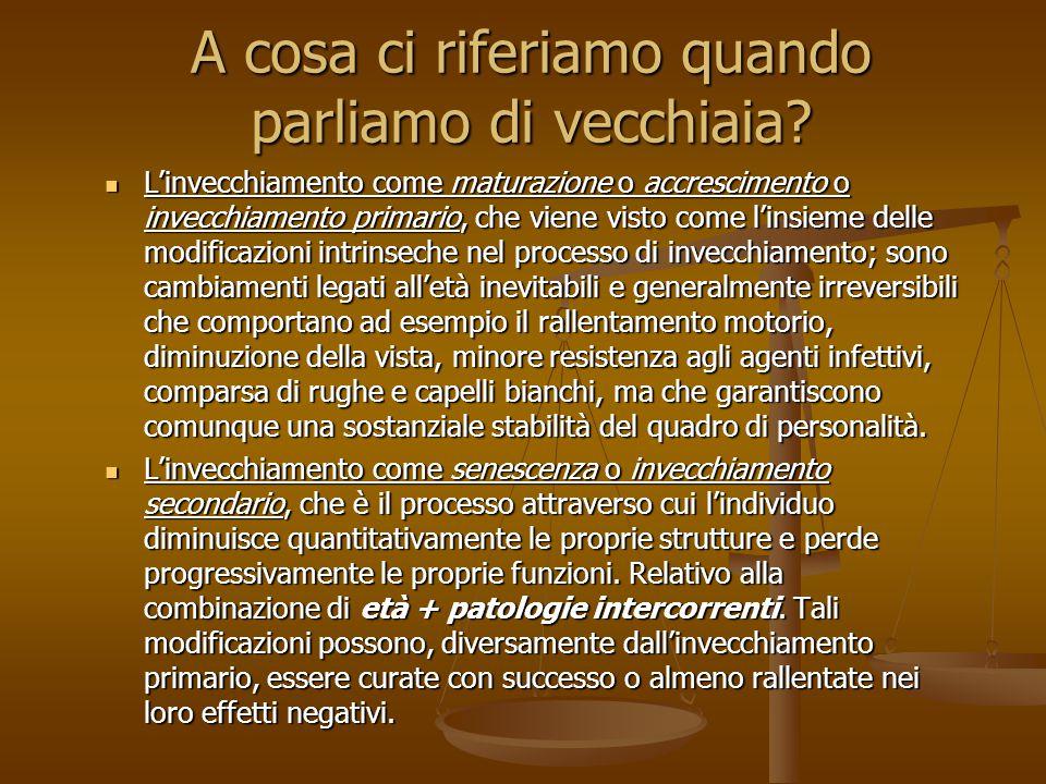 introduzione introduzione E' intorno ai primi anni '70 che, in Italia gli anziani e la loro condizione cominciano ad essere oggetto di attenzione e riflessione.