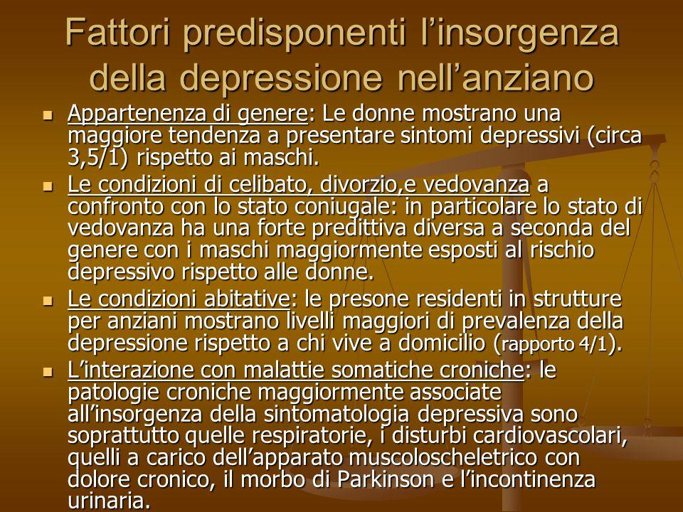 Trattamento Trattamento farmacologico Trattamento farmacologico Psicoterapia/sostegno individuale Psicoterapia/sostegno individuale Psicoterapia di gruppo Psicoterapia di gruppo Gruppi di auto mutuo aiuto Gruppi di auto mutuo aiuto