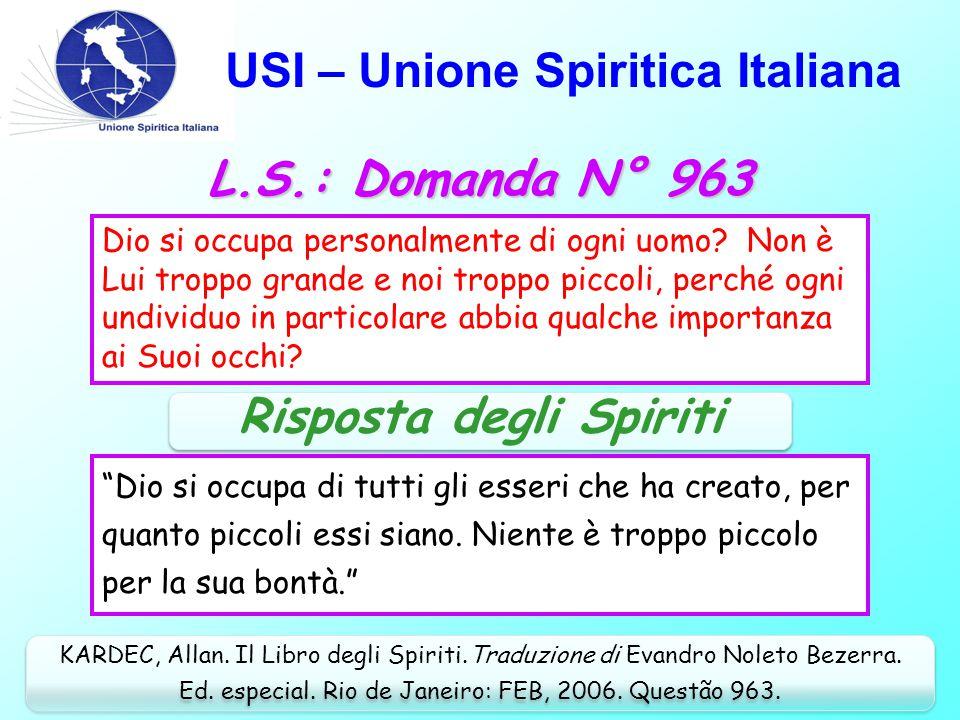 USI – Unione Spiritica Italiana Nel campo del Pensiero (cont.): Medici che guariscono malattie.