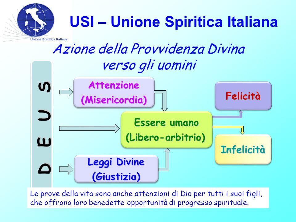 USI – Unione Spiritica Italiana L.S.: Domanda N°964 Dio ha bisogno di occuparsi di ogni nostro atto per ricompensarci o punirci.