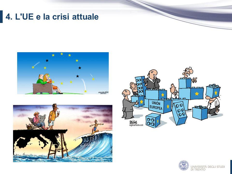 4. L'UE e la crisi attuale
