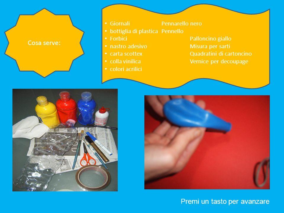 Prepara una miscela formata da acqua e colla vinilica che non sia troppo liquida.