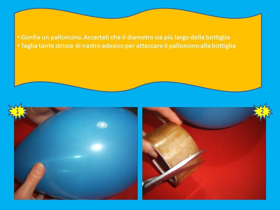 Ripeti l'operazione più volte Stendi diversi strati di scottex e colla Rivesti tutta la superficie del palloncino 41 42