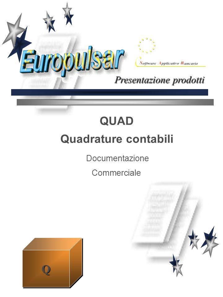 QUAD Quadrature contabili Documentazione Commerciale Presentazione prodotti QQ