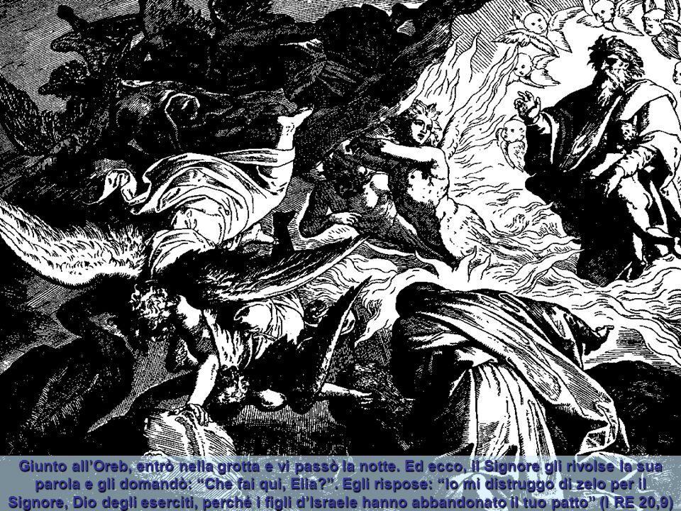 """Allora Elia ordino loro: """"Prendete i profeti di Baal: non ne scampi nemmeno uno!"""". Ed essi li presero. Poi egli li fece scendere presso il torrente Ci"""