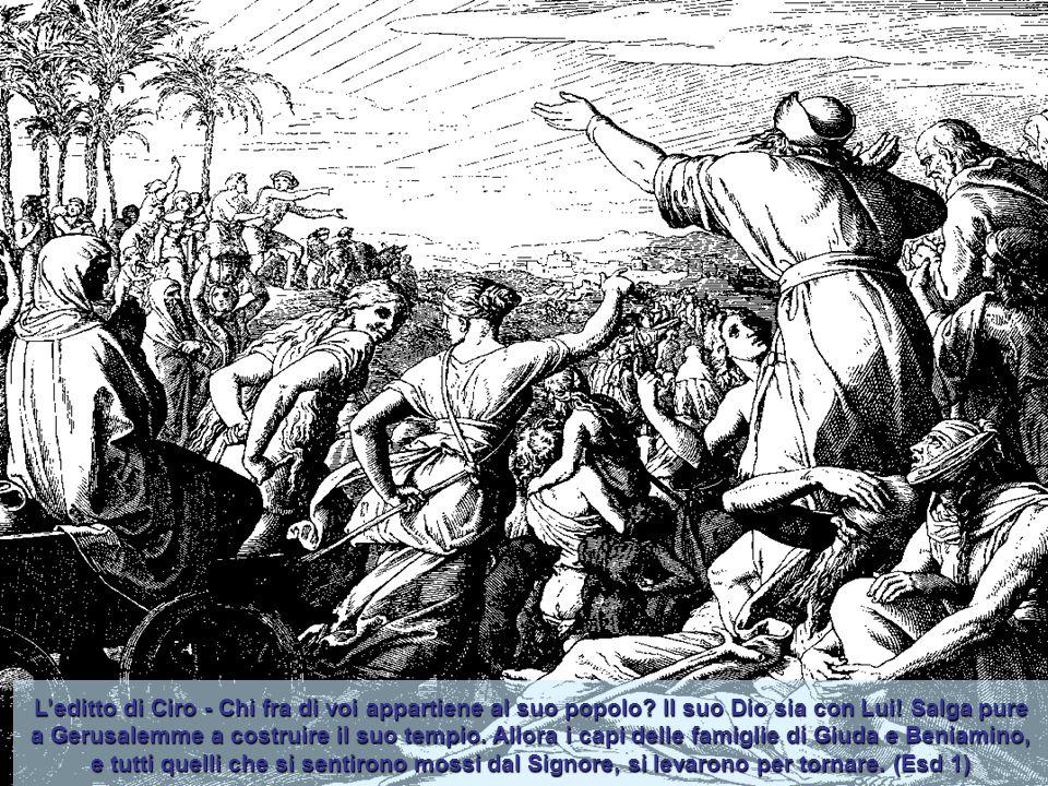 Gerusalemme resse l'assedio di Nabucodonosor per 11 anni poi fu espugnata. Il re Sedecia fu ucciso e il resto del popolo che era rimasto in città fu d