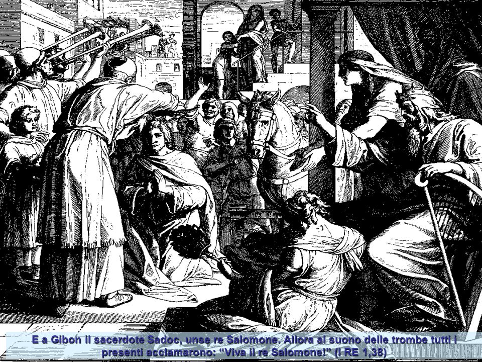 Intanto un uomo, teso l'arco, scoccò a caso una freccia, che andò a colpire Acab re di Israele tra le giunture e la corazza.