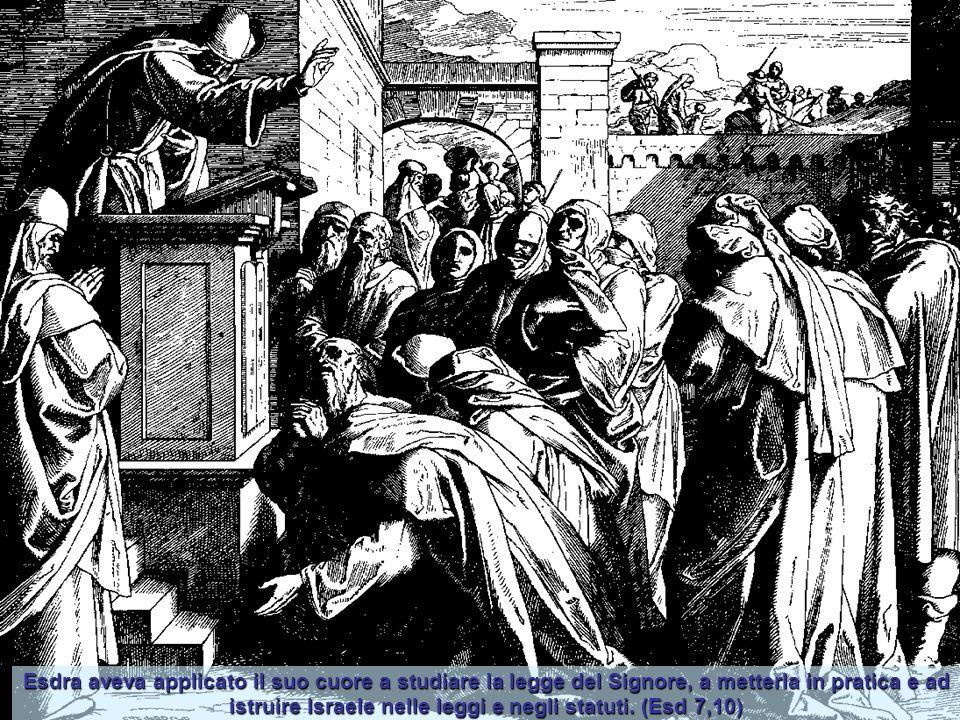 Allora levatosi Giosuè, coi parenti suoi sacerdoti e Zorobabele, coi suoi congiunti, costruirono l'altare del Dio di Israele per offrire sopra gli olo