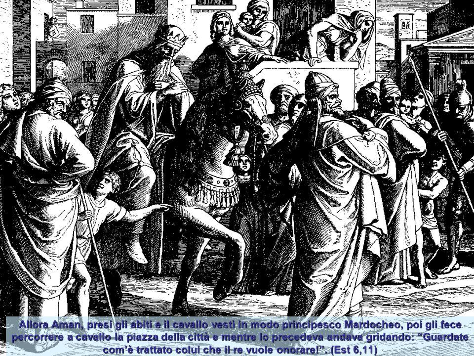 Il re Serse preferì Ester a tutte le altre concubine, ella trovò favore e grazia dinnanzi a lui, per questo le pose in capo il diadema reale e le conf