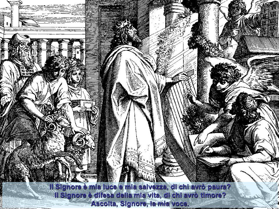 Il Libro dei Salmi di Davide Se vi è nella Bibbia un libro che sintetizza tutta l'esperienza religiosa d'Israele, se vi è uno strumento in cui l'anima