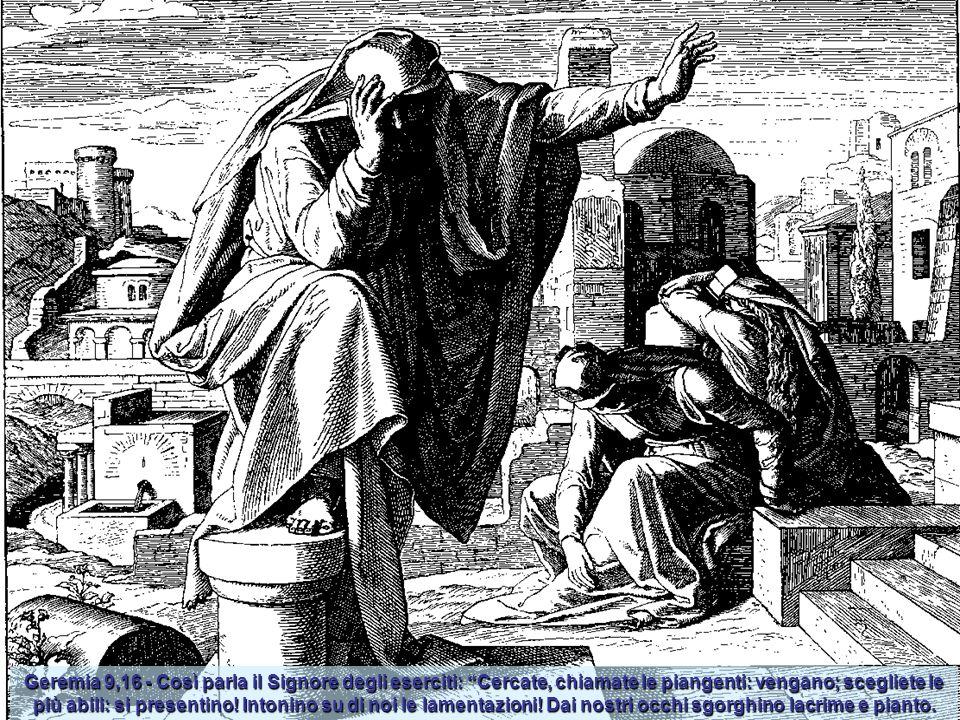 Geremia 1,16 - E mi disse il Signore, Io pronunzierò il mio decreto contro i cittadini, contro tutta la loro malizia nell'avermi rinnegato per bruciar