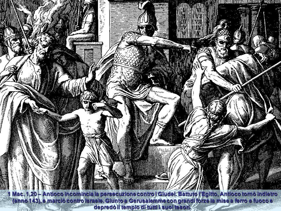 Siracide 30,1 – Chi ama suo figlio, gli farà spesso provare la sferza, perchè più tardi possa rallegrarsi di lui. Chi educa bene suo figlio, ne avrà c