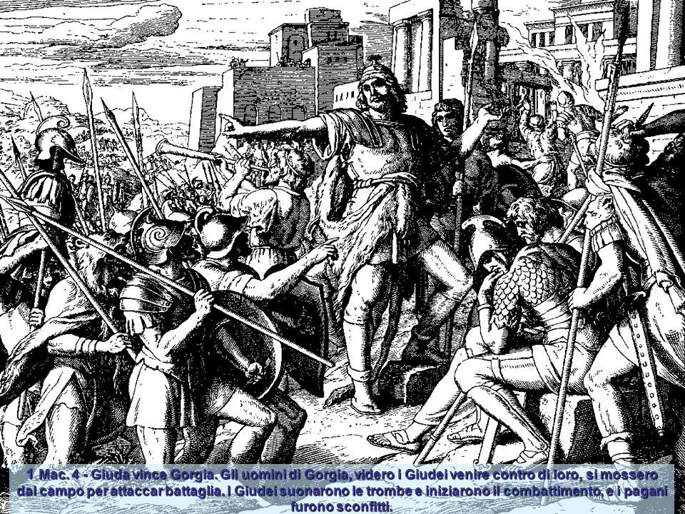 1 Mac. 2,1 - In quei giorni Mattatia, figlio di Giovanni, figlio di Simeone, sacerdote dei figli di Joiarib, lasciò Gerusalemme e andò a stabilirsi in