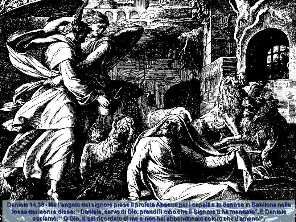 """Daniele 13,45 - Mentre Susanna era condotta a morir lapidata, Dio suscitò il santo spirito di un giovanetto, di nome Daniele, che si mise a gridare: """""""
