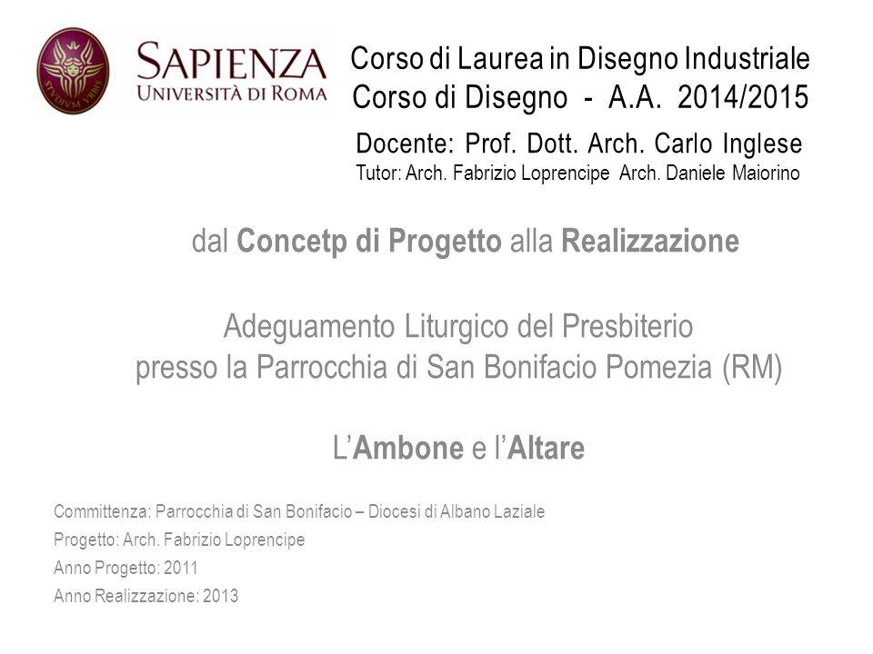 Corso di Laurea in Disegno Industriale Corso di Disegno - A.A.