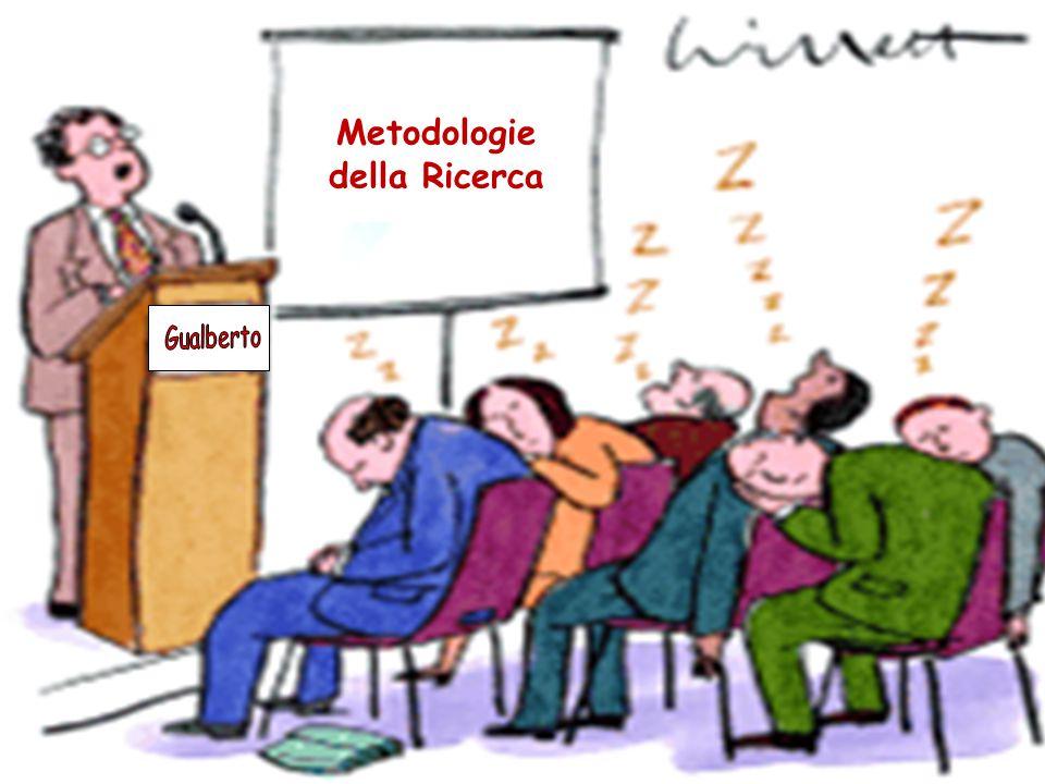 Metodologie della Ricerca