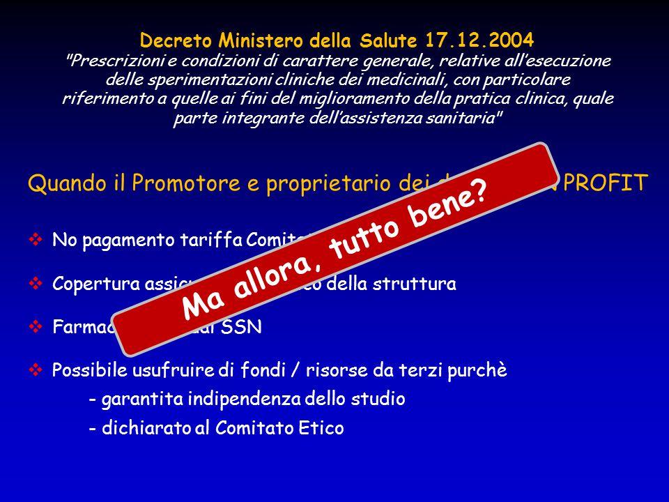 Decreto Ministero della Salute 17.12.2004