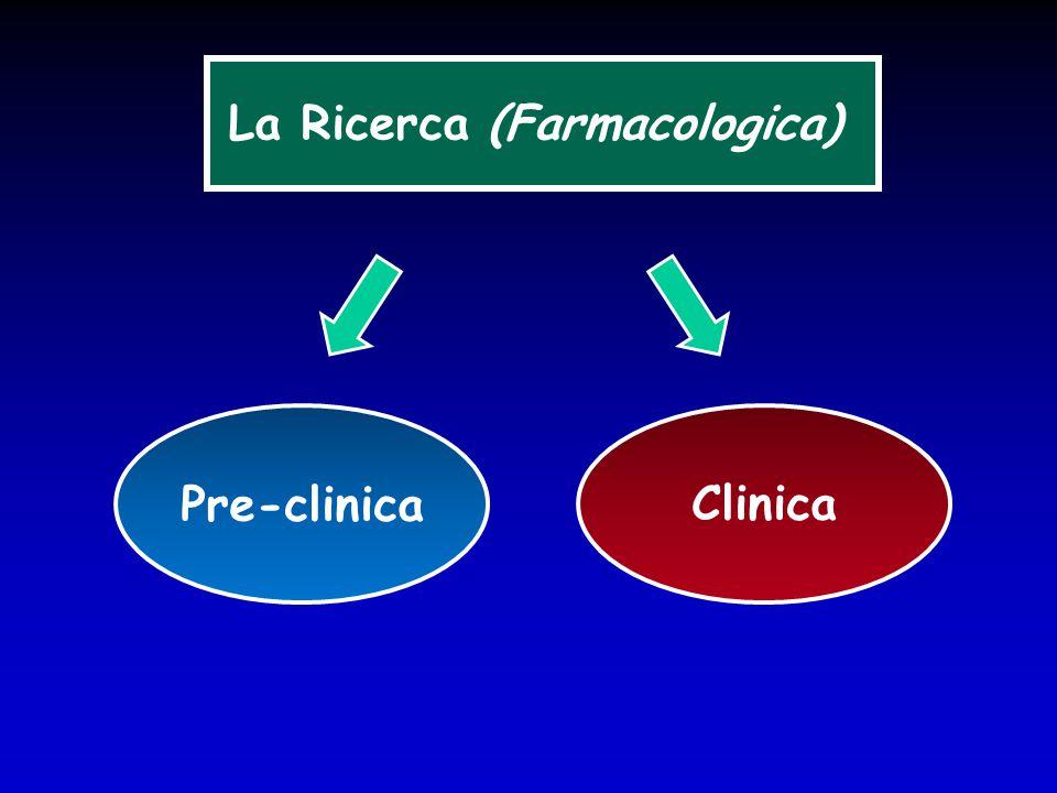 Sperimentazione clinica ( interventistica ) Ricerca clinica Studi osservazionali
