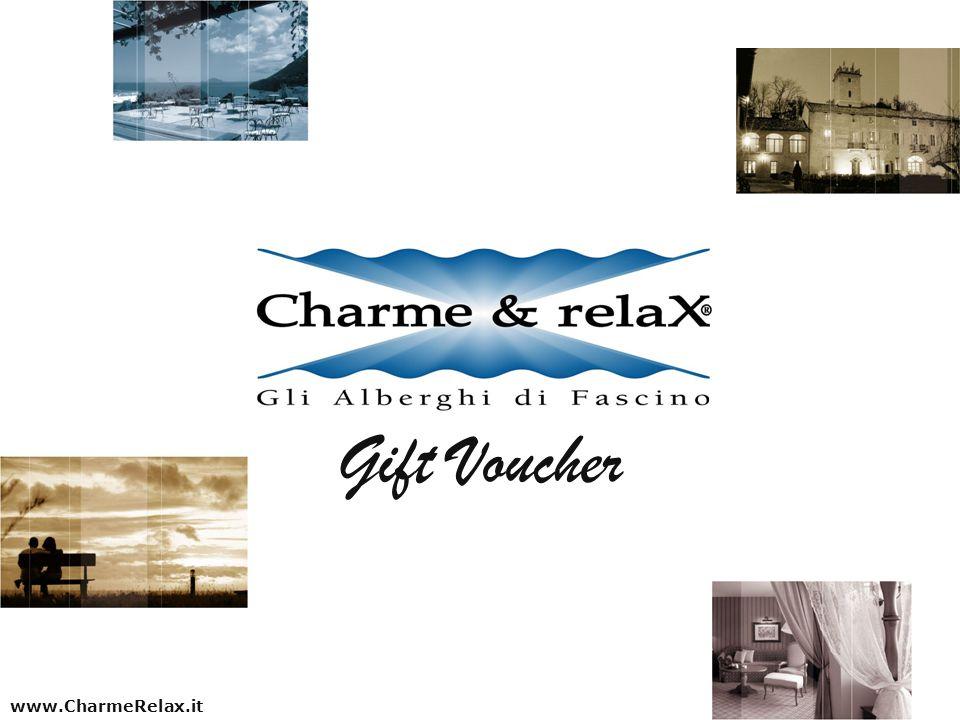 www.CharmeRelax.it Gift Voucher