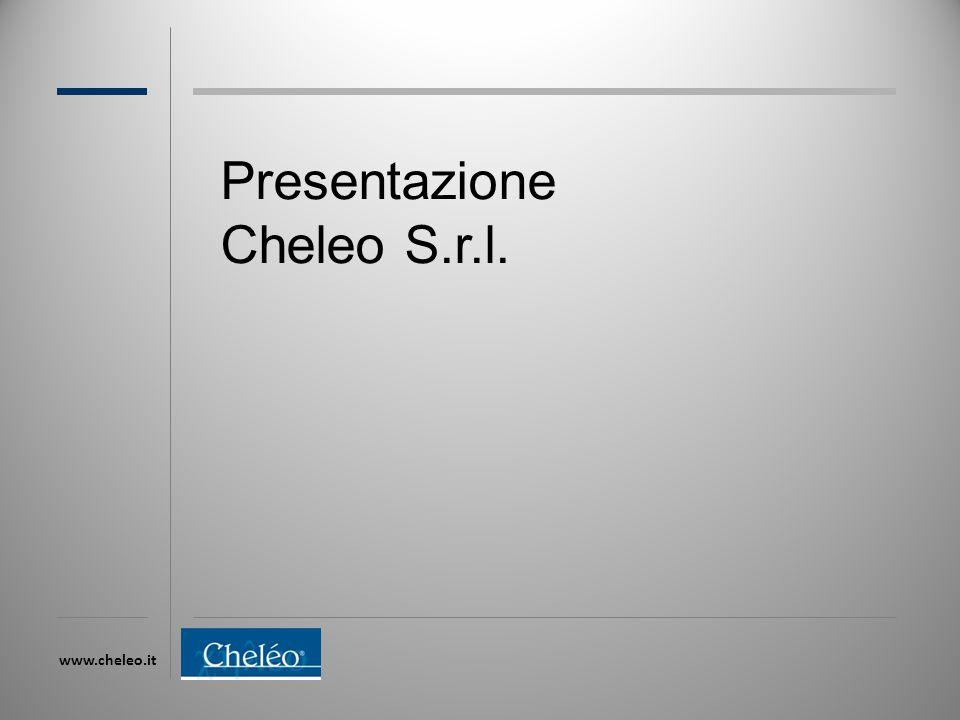 www.cheleo.it Presentazione Cheleo S.r.l.